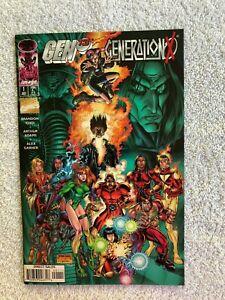 Gen13/Generation X #1 (Jul 1997, Image/Marvel) VF+ 8.5