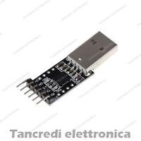 Convertitore Seriale USB-TTL CP2102 Bootloader Programmer (Arduino-Compatibile)