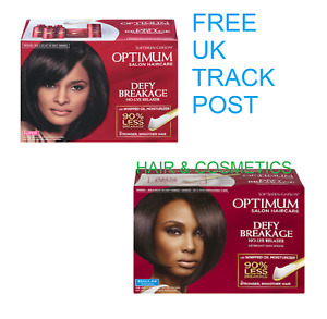 Optimum Care Defy-Breakage No Lye Hair Relaxer -REGULAR OR SUPER- FREE UK POST!!
