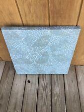 Werzalit Commercial Indoor/Outdoor Patio Table Tops Blue Mosaic Tile