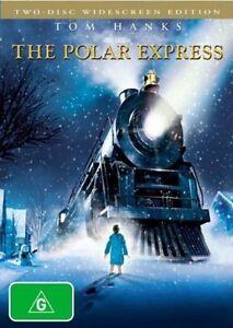 The Polar Express DVD CHRISTMAS MOVIE BRAND NEW R4