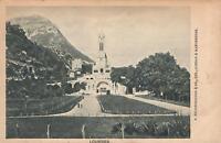 EARLY 1900's VINTAGE LOURDES CHURCH POSTCARD - S. HILDESHEIMER, LOND, MANCHESTER