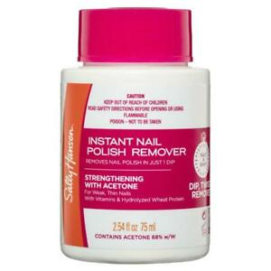 Sally Hansen Nail Polish Remover Pot Strengthening 75ml Gentle Removal