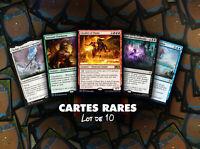 Magic MTG - Lot de 10 Cartes Rares et rares Mythiques