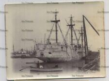 More details for royal navy photo cohen's shipbreaking yard east london hms bacchante 1897