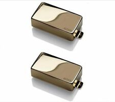 Genuine AMERICAN EMG 81 + 85 Active Humbucker Guitar Pickup Set USA GOLD NEW