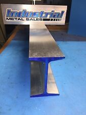 "6061 T6 Aluminum I Beam 4"" x .190"" x 2.66"" x 60""-Long"