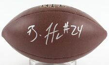 BRANDON FLOWERS SIGNED WILSON FULL SIZED NFL FOOTBALL w/ PSA KC CHIEFS CHARGERS