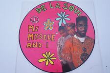 """De La Soul-Me myself and I,Picture disc Vinyl, Maxi Single 12"""",1989 VG++"""
