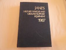 JANE'S MILITARY VEHICLES AND GROUND SUPPORT EQUIPMENT - 1987 - EIGHTH EDITION
