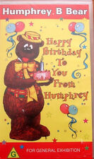 Humprey. B Bear Happy birthday to You From Humphrey VHS 1996