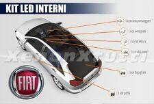 KIT LED INTERNI FIAT BRAVO CONVERSIONE COMPLETA + LUCI TARGA LED CANBUS BIANCO