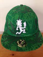 Insane Clown Posse ICP Juggalo Marijuana Hatchetman Pot Leaf Virtis Hat Cap S