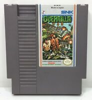Nintendo NES Guerrilla War Video Game Cartridge *Authentic/Cleaned/Tested*