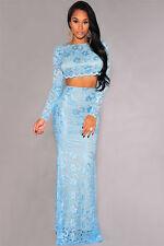 Unbranded Lace Formal Floral Dresses for Women