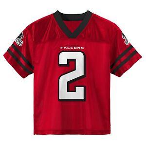 Outerstuff Atlanta Falcons Matt Ryan #2 NFL Boy's Youth 4-18 Player Jersey, Red
