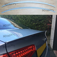 Audi A4 B8 8K 2012-2015 FACELIFT Rear Trunk Boot Lip Spoiler ~PRIMED & PREPARED~