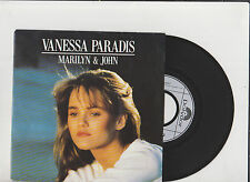 VANESSA PARADIS  * Marilyn and John *  45Tour POLYDOR 1988.