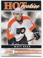 2011-12 Score 565 Matt Read Rookie HR SP Hot Rookies