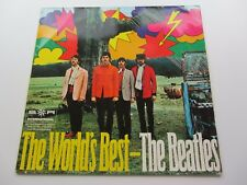 THE BEATLES   GERMAN BOOK CLUB LP    THE WORLDS BEST    THE BEATLES