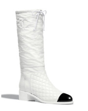 CHANEL High Boots - White