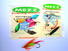 Fly Fishing LuresTrout Wiggle Flies and Mixed Colour Swivel-less Spinner Flies