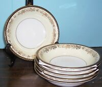 "LOT OF 6 NORITAKE BORDEAUX SOUP BOWLS 7.5"" NEVER USED FREE U S SHIPPING"