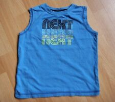 Next Boys' Sleeveless 100% Cotton T-Shirts & Tops (2-16 Years)