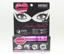 Fairy Drops Quattro Curved Brush Long & Volume Mascara JAPAN Black