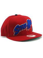 New Era Spider-Man 9fifty Snapback Hat Adjustable Marvel Comics Heroes Red NWT
