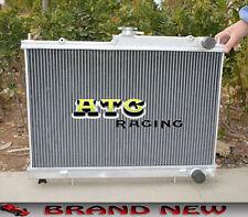 2 Core Aluminum Radiator for NISSAN SKYLINE R33 R34 GTR GTS-T GTST RB25DET MT