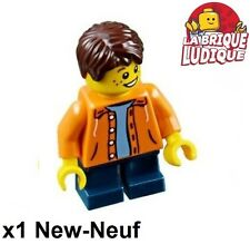 Lego - Figurine Minifig petit garçon little boy enfant child twn267 31053 NEUF