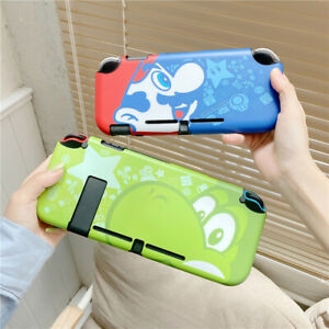Cute cartoon Mario Dockable Thin Hard Case Cover for Nintendo Switch lite shell