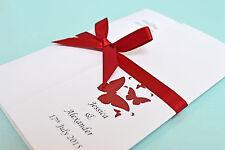 75 Personalised Gatefold Wedding Invitations