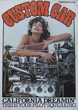 Custom Car magazine February 1978