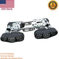 WZY569 Intelligence RC Tank Car Truck Robot Chassis CNC Alloy 4 Motors USA Ship