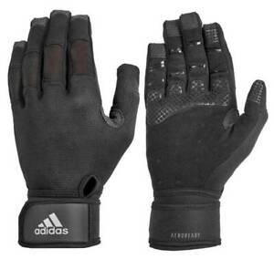 Adidas ClimaCool Ultimate Full Finger Black Training Gloves - S, M, XL