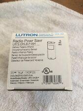 Lutron Lrf2-Ohlb-P-Wh Occupancy Sensor,150 linear ft,Hall
