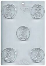 It's A Boy Baby Chocolate Cookie Candy Mold from CK #16118 - NEW