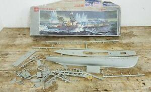 Glencoe Models #07301 WW1 Subchaser Boat 1:74 Plastic Model Kit A/F