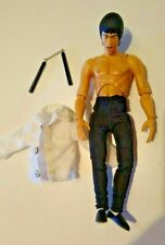 Bruce Lee - MEDICOM TOYS - Miracle Action Figure - RAGE FOR JUSTICE - White