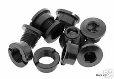 Alloy Chainring bolts (Set Of 5) BRAND NEW! (BLACK)