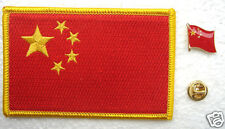 China National Flag Pin and Patch Embroidery