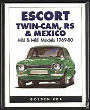 FORD ESCORT MK1 MK2 Twin-Cam RS & Mexico Collectors Cards - Mexico RS1800 RS2000