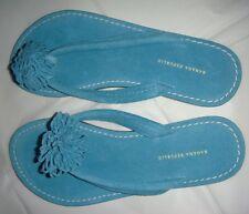 BANANA REPUBLIC Torquoise Thong Sandal. Size 6