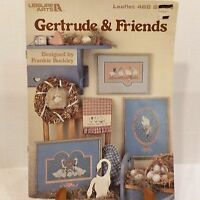 Gertrude and Friends 3 Counted Cross Stitch Patterns
