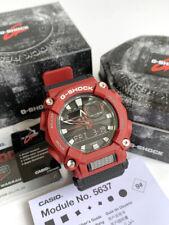 Casio G-Shock *GA900-4 Anadigi Red & Black Resin Watch for Men