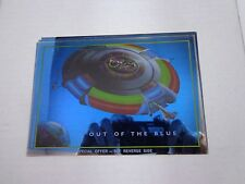 *   ELECTRIC LIGHT ORCHESTRA 'OUT OF THE BLUE' poster offer coupon -Vintage