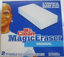 Mr. Clean White Magic Eraser Original 2 Pads 4.6 x 2.4 x 1.0 each pad 96362302