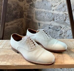 Tom Ford Ivory Suede Lace-up Shoes - 8 UK - 9 US - 42 IT